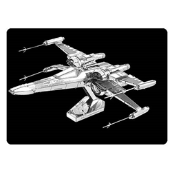 Star Wars VII Poe Damerons X-Wing Fighter Metal Earth Kit