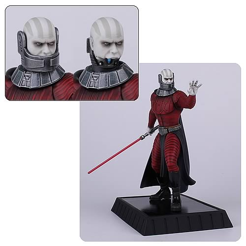 Star Wars Knights of the Old Republic Darth Malak Collectible Statue