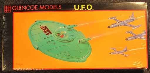 1:48 scale Classic U.F.O. Plastic Model Kit