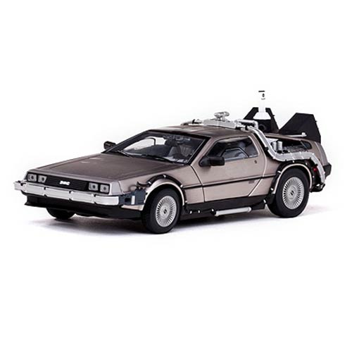 Back to the Future II 1:18 scale Flying Delorean