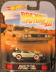 Back to the Future III 1950s Delorean Time Machine Die-Cast Vehicle