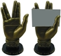 Star Trek Mr. Spock Hand Statue/Business Card Holder