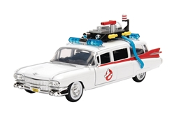 Ghostbusters 1:24 scale ECTO-1 1959 Cadillac Die-Cast Vehicle