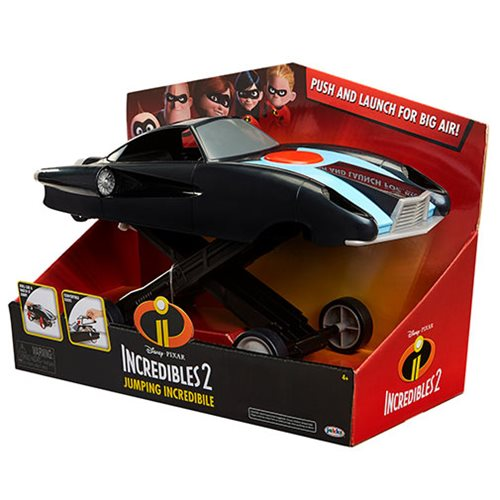 Incredibles 2 1:24 scale Jumping Incredible Action Vehicle