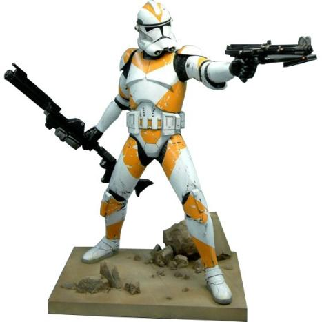 SDCC 2007 Star Wars 1:7 scale Utapau Clone Trooper ArtFX Vinyl Statue
