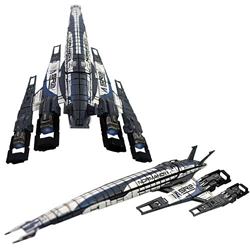Mass Effect SSV Normandy Ship Replica Statue