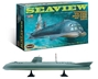 Voyage To The Bottom of the Sea Motion Picture 1:128 scale Seaview Plastic Model Kit