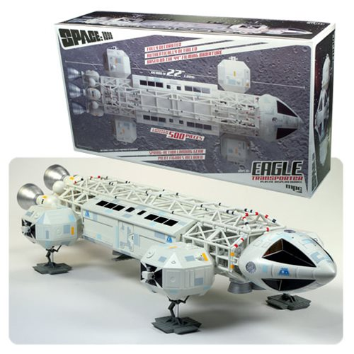 Space 1999 Limited Edition 1:48 scale Pre-Built Eagle Transporter Plastic Model