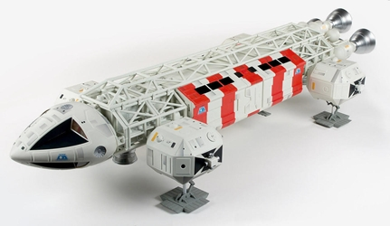 Space 1999 Limited Edition 1:48 scale Prebuilt Rescue Eagle Transporter Plastic Model