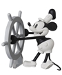 Disney Steamboat Willie Mickey Mouse UDF Figure
