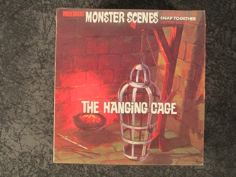 Monster Scenes 1:13 scale Hanging Cage