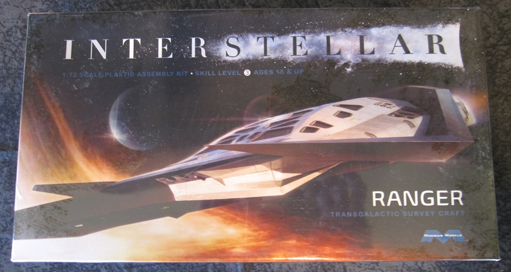 Interstellar 1:72 scale Ranger Transgalactic Survey Craft plastic model kit