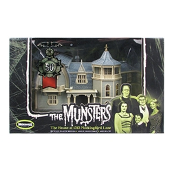 Munsters 50th Anniversary 1:87 scale Prebuilt House