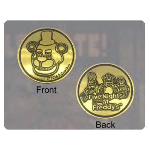Five Nights at Freddys Fazbear Arcade Token Prop Replica