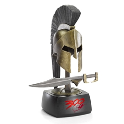 300 King Leonidas Helmet and Sword Prop Replica