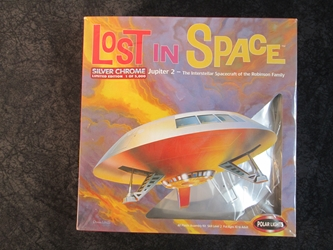 Lost  in Space Limited Edition Chrome 1:60 Scale Jupiter 2