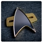 Star Trek Voyager Deep Space 9 Picard Communication Badge Replica