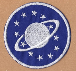 Galaxy Quest Crew Emblem Patch Replica
