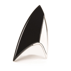 Star Trek Discovery Black Insignia Badge Replica