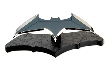 Batman vs. Superman Dawn of Justice 1:1 scale Batarang Prop Replica