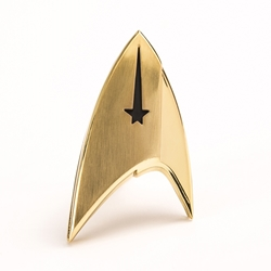 Star Trek Discovery Command Insignia Badge Replica