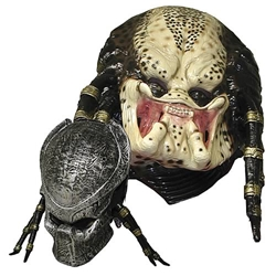 Alien vs. Predator Requiem Predator Mask and Faceplate