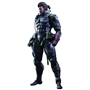 MGS V: The Phantom Pain Snake Venom in Seaking Suit Play Arts Kai Figure