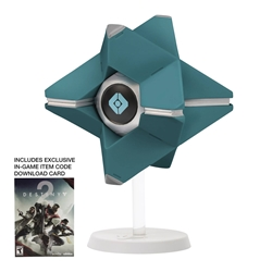 Destiny Moon of Saturn Ghost Shell Vinyl Figure w/ Game Codes