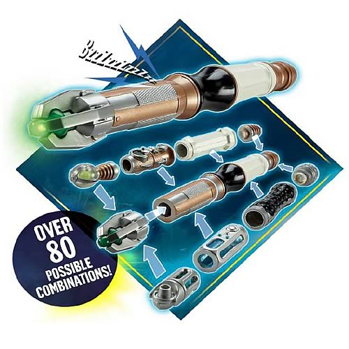 Doctor Who Customizable Sonic Screwdriver Kit Replica