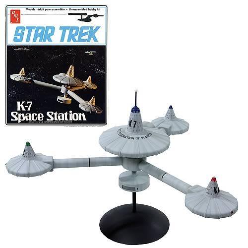 Star Trek K-7 Space Station plastic model kit