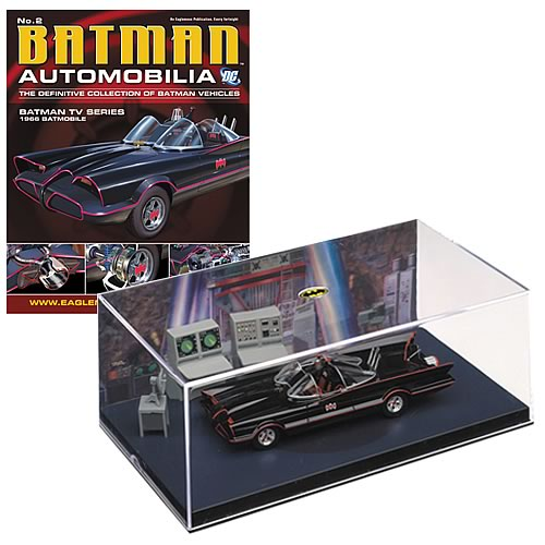 Batman Classic TV Series Batmobile w/ #2 Magazine