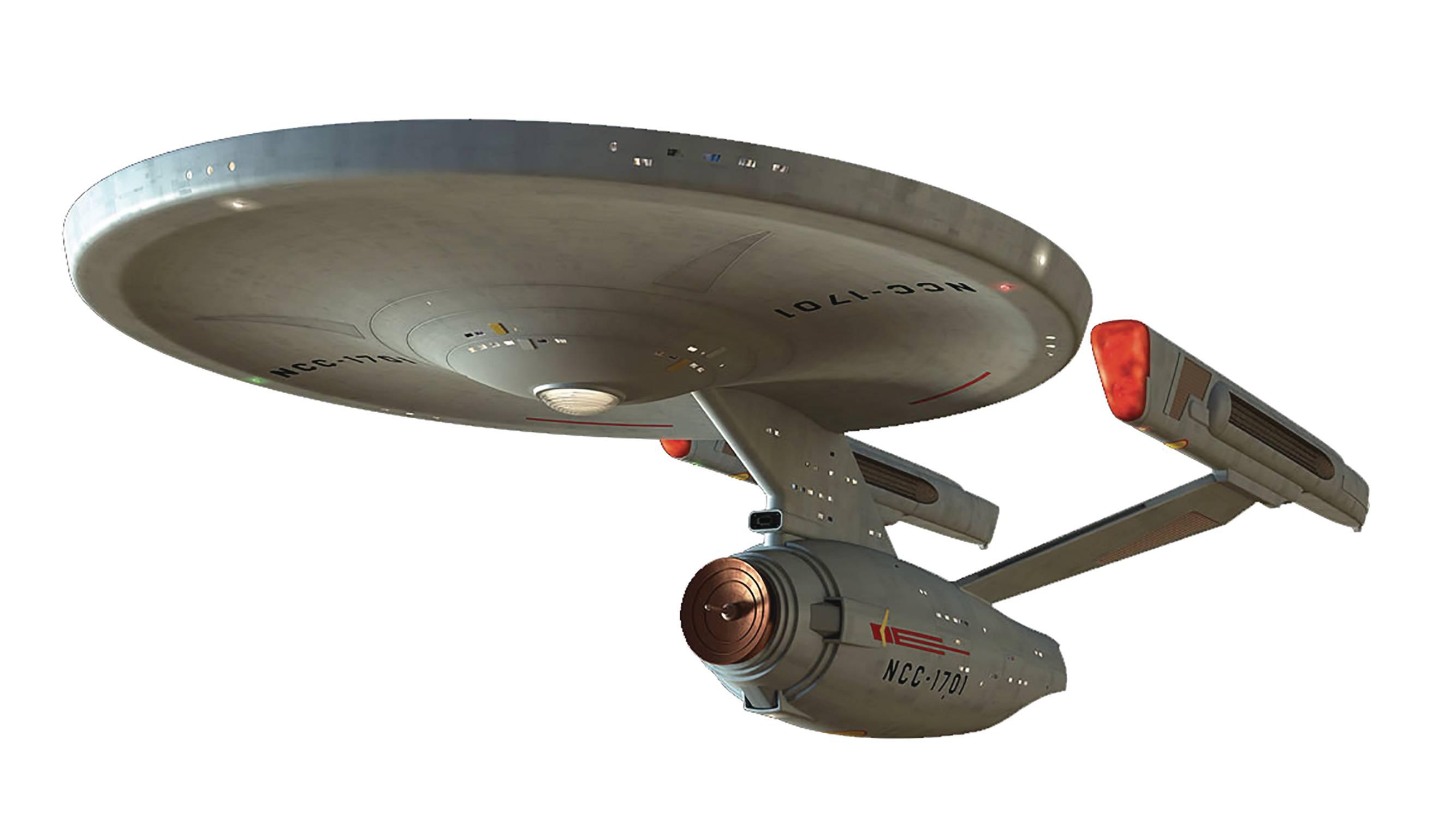 Eaglemoss Star Trek Starships Miroir-Miroir I.S.S Enterprise avec #M1 Magazine