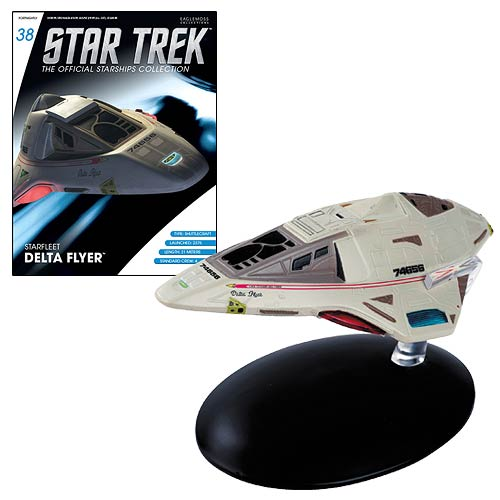 Eaglemoss Publications Star Trek Starfleet Delta Flyer W