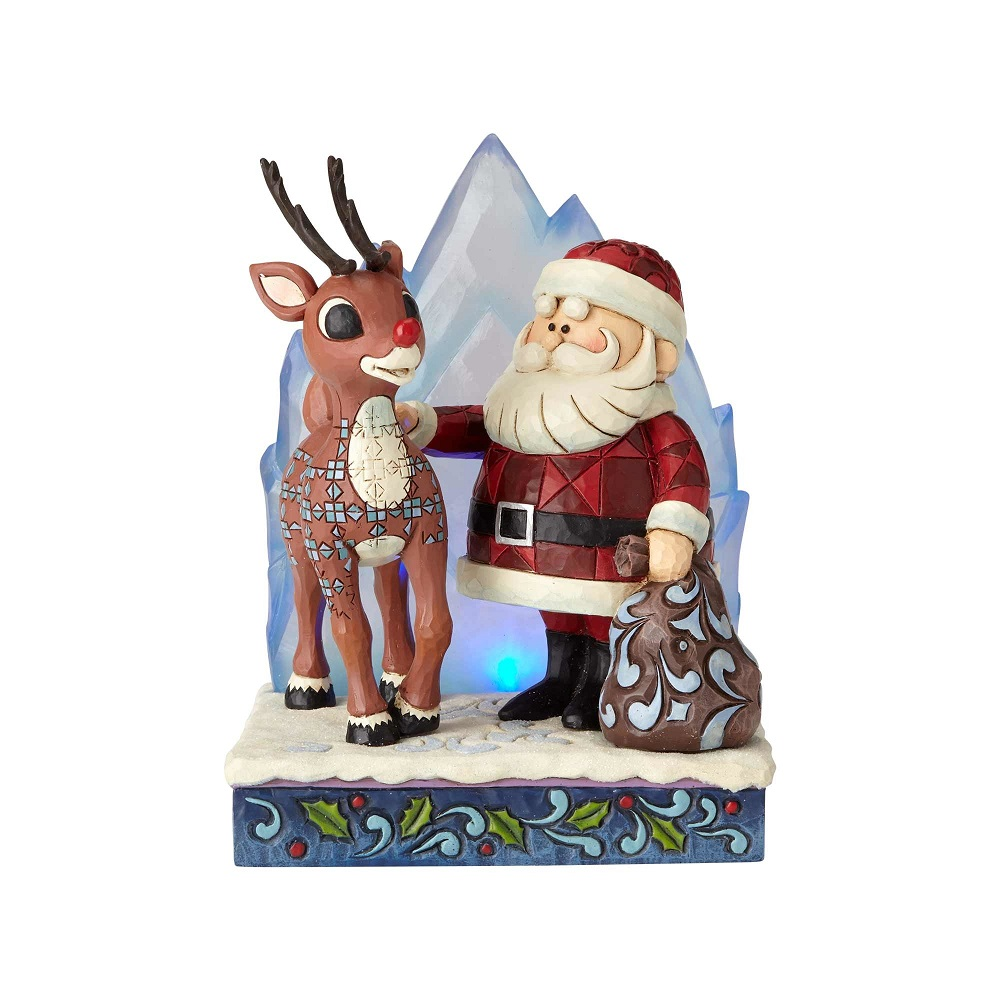 Enesco Rudolph Traditions Jim Shore S Rudolph With Santa