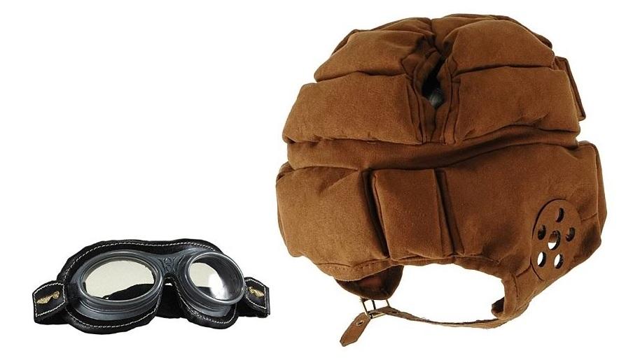 elope harry potter quidditch helmet and goggles set elp