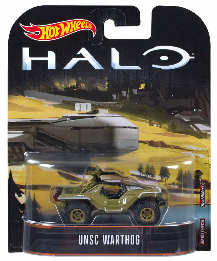 Hot Wheels Halo Unsc Warthog Hot 55a23