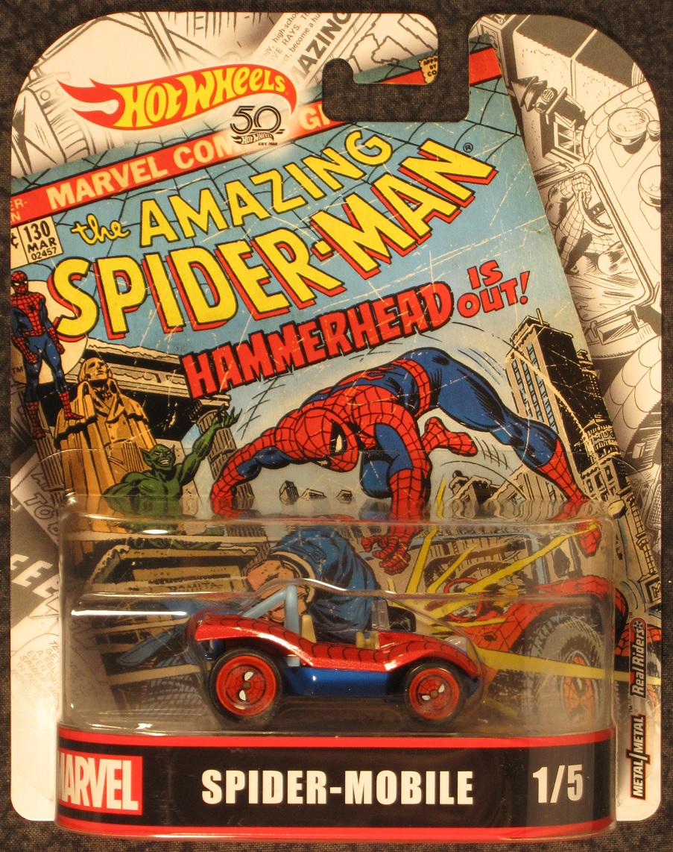 Spiderman Spider Mobile Die Cast Vehicle