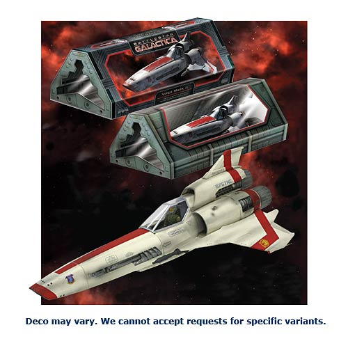 Moebius Battlestar Galactica 1 32 Scale Viper Mk Ii