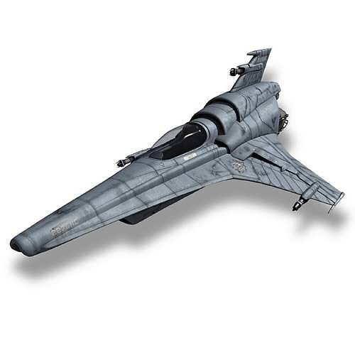 Moebius Battlestar Galactica 1 32 Scale Viper Mk Vii