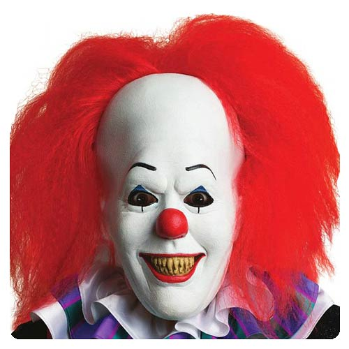 Stephen King's IT Pennywise Clown Mask With Hair