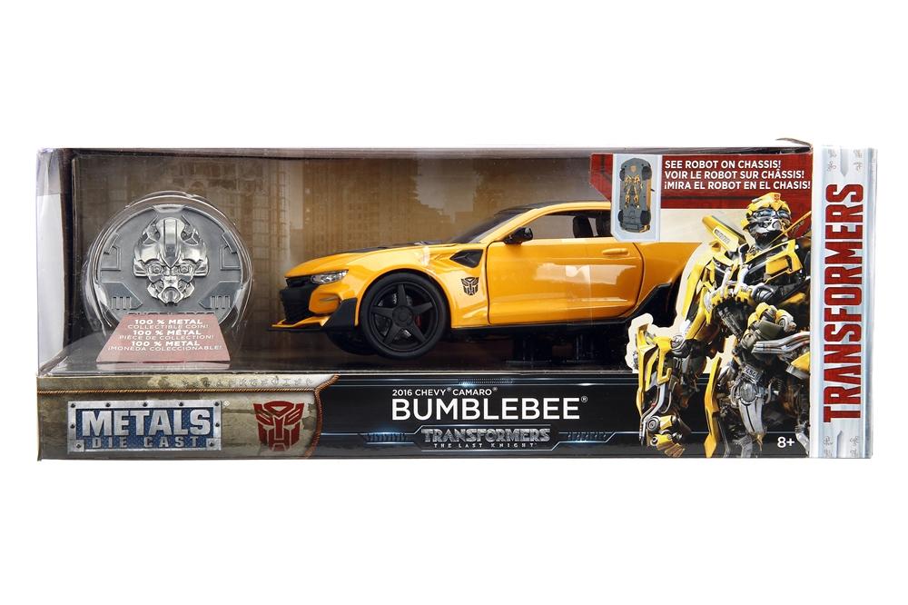 Jada Toys Transformers Last Knight 124 Scale Bumblebee